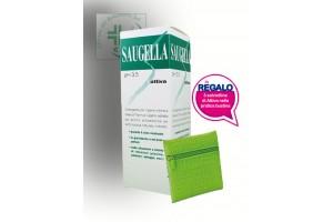 Saugella Attiva 250 ml. con 3 salviette omaggio