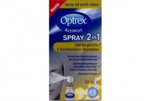 Spray oculare Optrex Actimist prurito e lacrimazione eccessiva