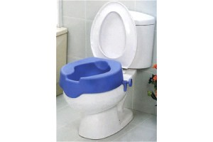Rialzo WC soft blu Mediland cod.856100 cm.15