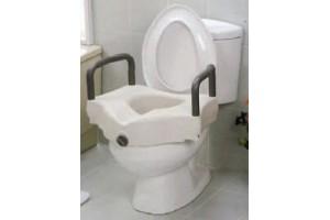 Rialzo WC con braccioli fissi Mediland cod.857111 cm.15